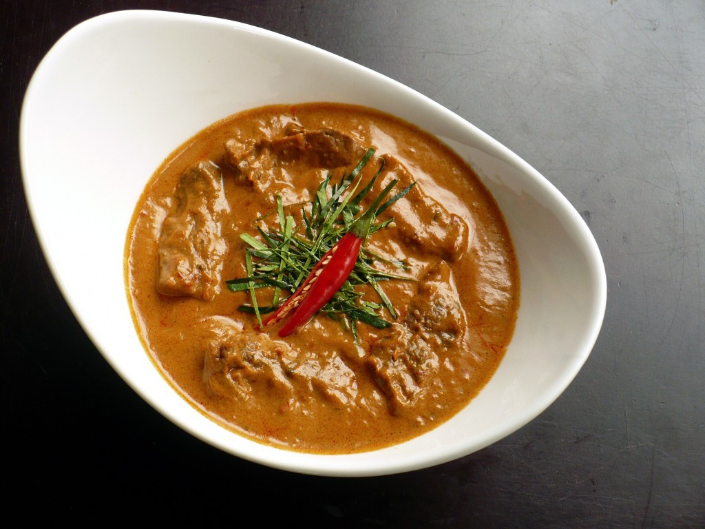 Thai Beef Panang Curry